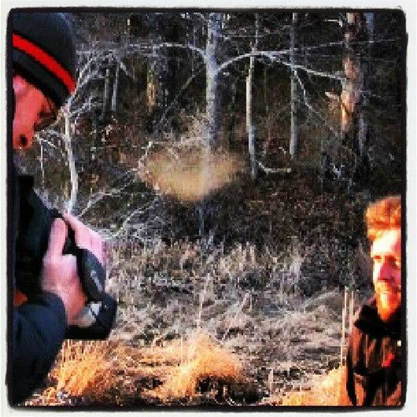 Run Photograph - Shooting On The Ancestral Lands Of John by Hit And Run History