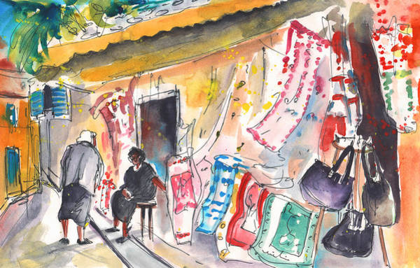 Painting - Shop In Kritsa by Miki De Goodaboom