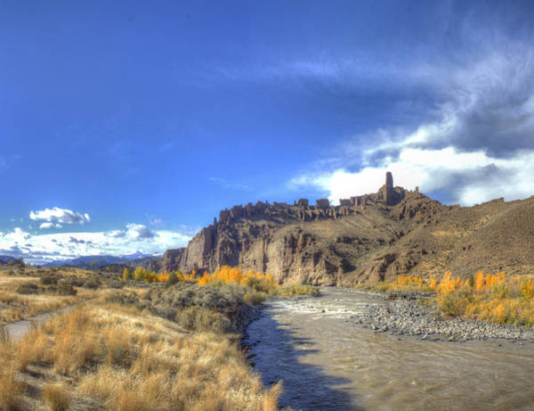 Wall Art - Photograph - Shoshone River by Twenty Two North Photography