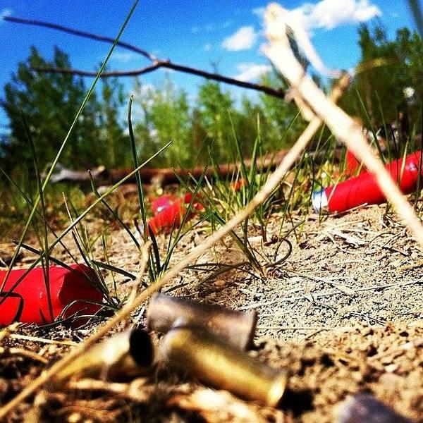 Rifles Photograph - #shotgun #shooting #hunting #nature by Sam Sana