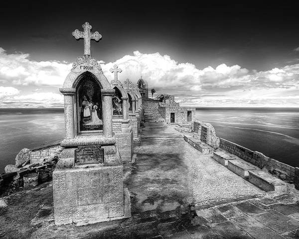 Station Of The Cross Photograph - Shrines by Dominic Piperata