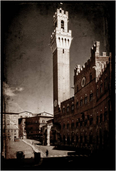 Photograph - Siena by Mark Forte