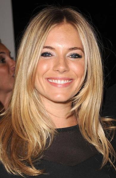 Sienna Photograph - Sienna Miller, At Intermix At In-store by Everett