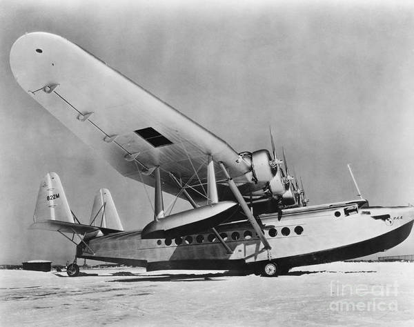 Photograph - Sikorsky S-42 by Photo Researchers