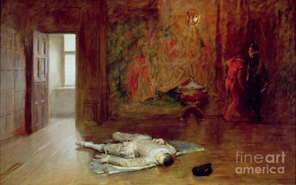 Murderer Painting - Silenced by John Seymour Lucas