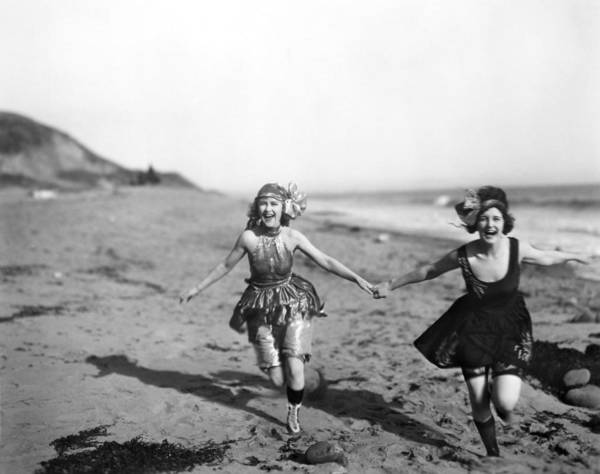 Photograph - Silent Film Still: Bathers by Granger