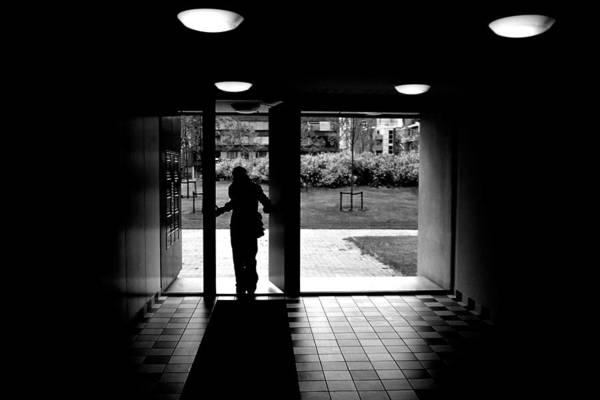 Photograph - Silhouette Of A Man by Fabrizio Troiani