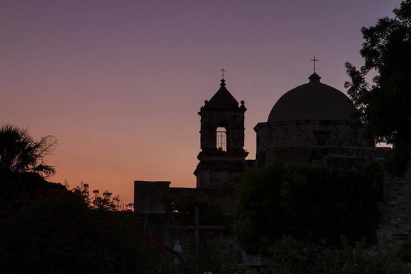 Wall Art - Photograph - Silhouette Of Mission San Jose by Ellie Teramoto