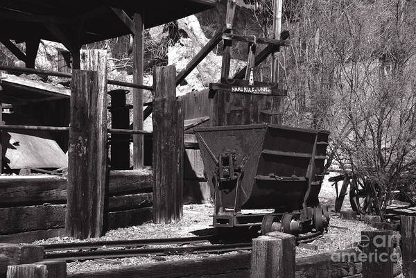 Photograph - Silver Mining In Calico California by Susanne Van Hulst