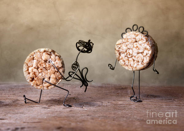 Figurine Wall Art - Photograph - Simple Things 06 by Nailia Schwarz