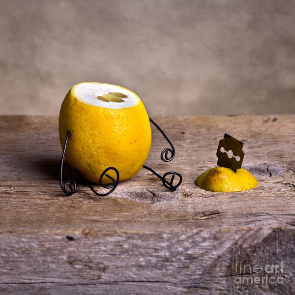 Citrus Fruit Photograph - Simple Things 10 by Nailia Schwarz