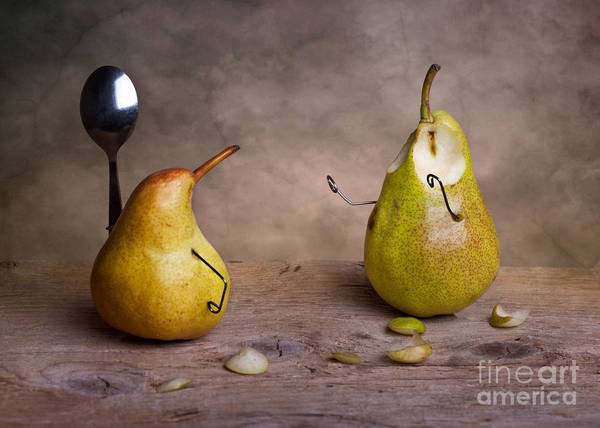 Pears Wall Art - Photograph - Simple Things 13 by Nailia Schwarz