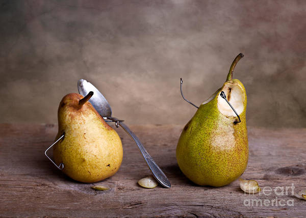 Pears Wall Art - Photograph - Simple Things 15 by Nailia Schwarz