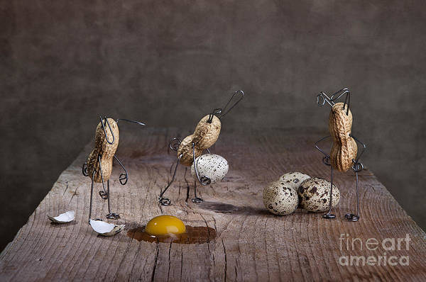 Figurine Wall Art - Photograph - Simple Things Easter 06 by Nailia Schwarz