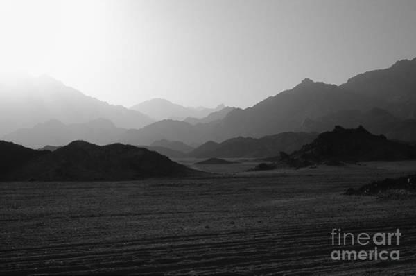 Montain Photograph - Sinai Desert And Mountains by Heiko Koehrer-Wagner