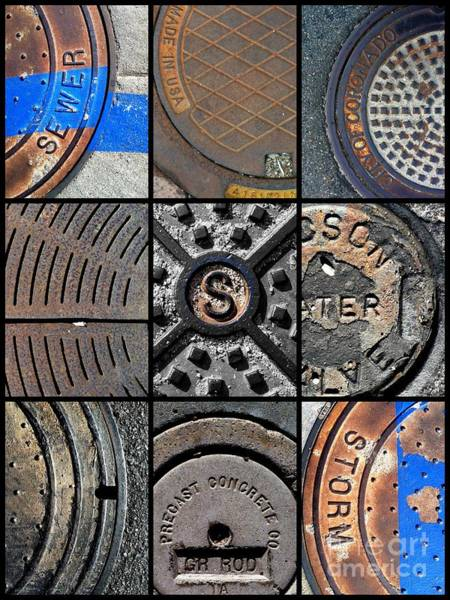 Photograph - Sinuous Sewers by Marlene Burns