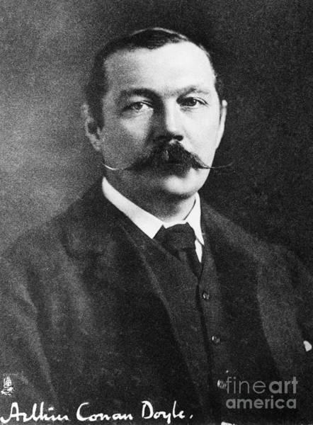 Photograph - Sir Arthur Conan Doyle (1859-1930). British Physician And Writer. Photograph, C1900 by Granger