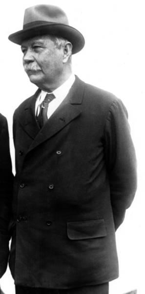 Conan Photograph - Sir Arthur Conan Doyle, Portrait by Everett