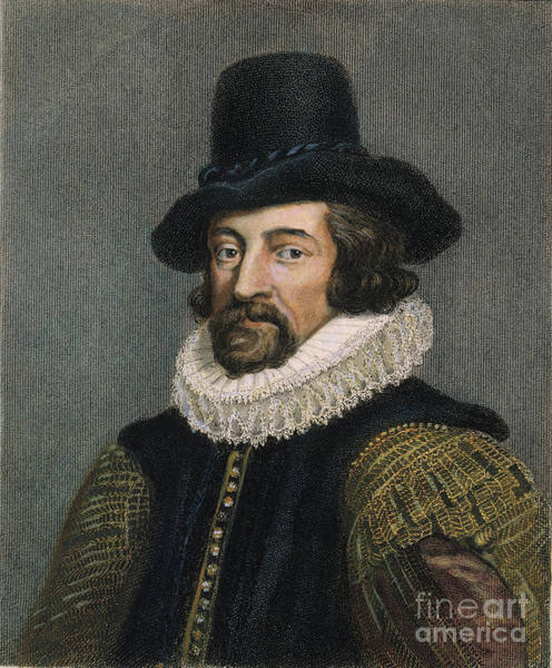 Photograph - Sir Francis Bacon (1561-1626) by Granger