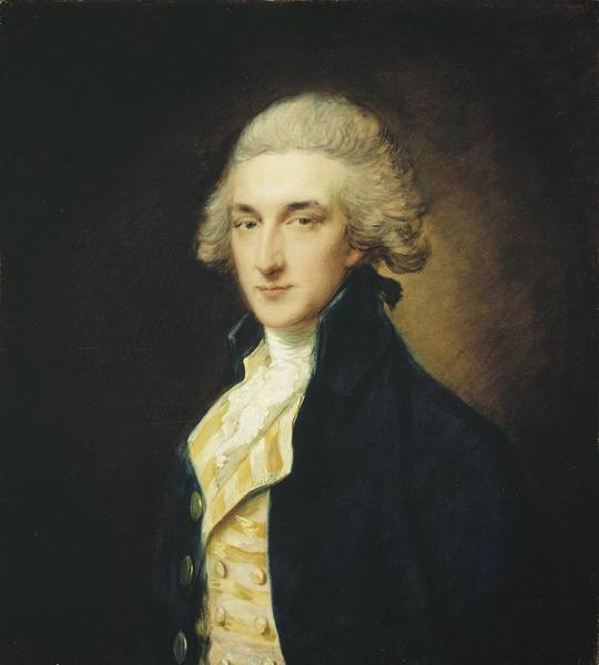 Thomas Gainsborough Wall Art - Painting - Sir John Edward Swinburne by Thomas Gainsborough