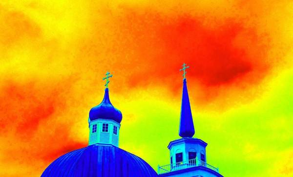 Patina Digital Art - Sitka Russian Orthodox 8 by Randall Weidner