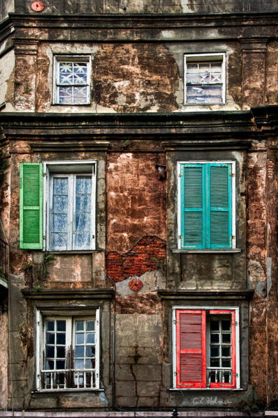 Photograph - Six Pack Of Windows by Christopher Holmes