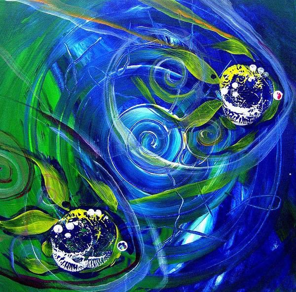 Subtle Painting - Six Subtle Ups And Downs 3 by J Vincent Scarpace