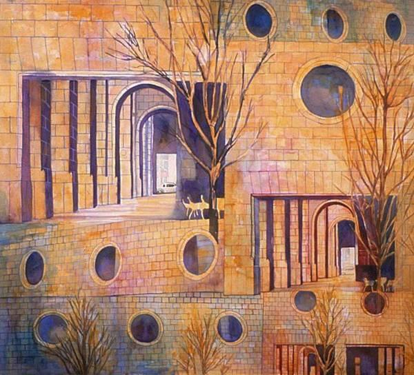 Painting - Sixth In Att Series by Nancy Wait