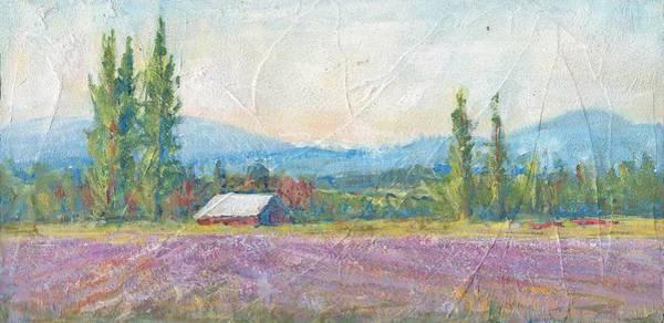 Skagit Valley Painting - Skagit Valley Iris Field by Sukey Watson