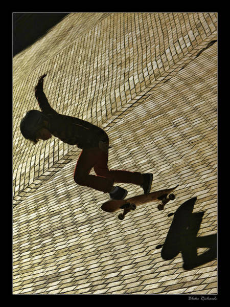 Photograph - Skate Board Fun by Blake Richards