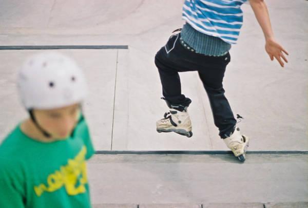 Roller Blades Photograph - Skate Park by Vanessa Garcia