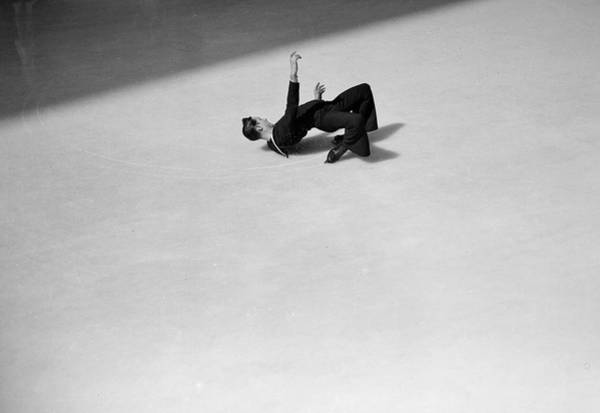 Usa Navy Photograph - Skating Sailor by Melvin Weiss
