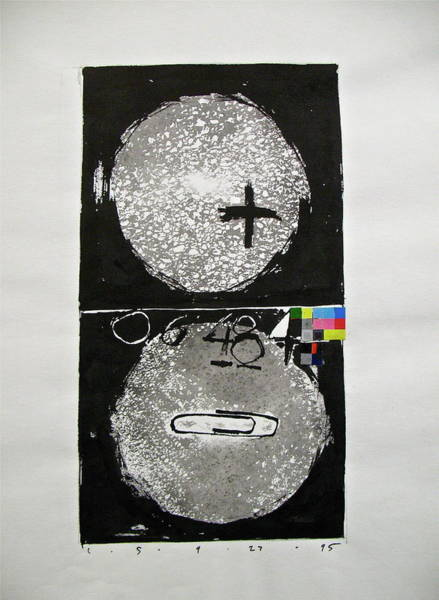Drawing - Sketchbook 1  Pg 13 by Cliff Spohn