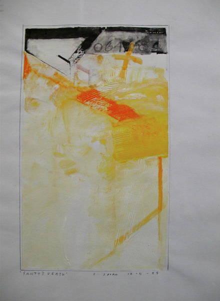 Painting - Sketchbook 1  Pg 25 by Cliff Spohn