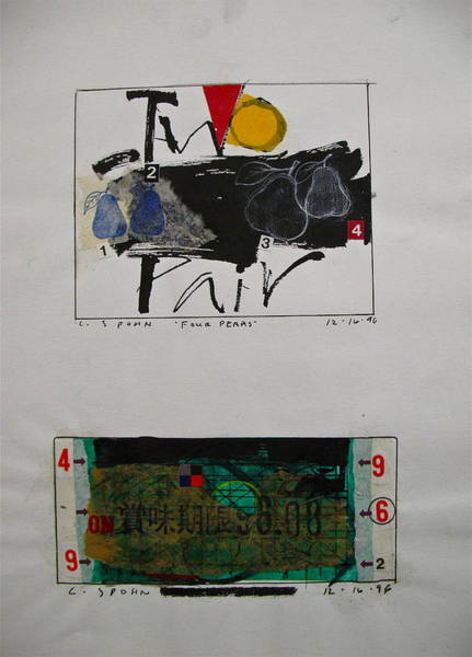 Drawing - Sketchbook 1  Pg 29 by Cliff Spohn