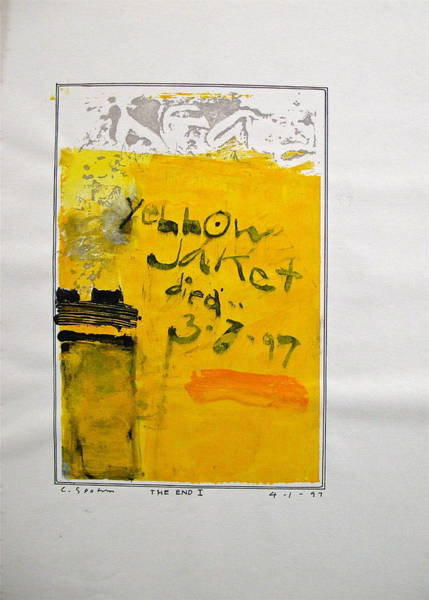 Painting - Sketchbook 1  Pg 41 by Cliff Spohn
