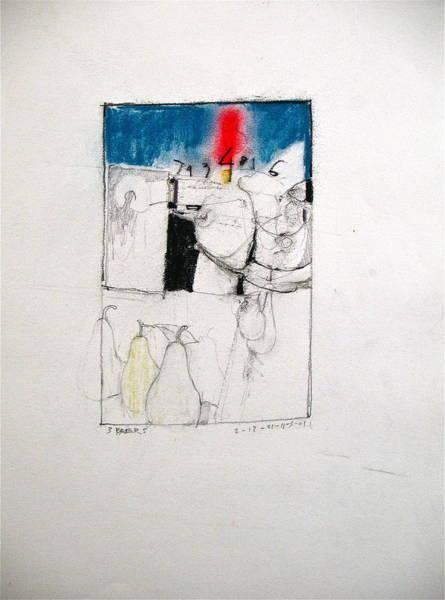 Drawing - Sketchbook 2  Pg 11 by Cliff Spohn