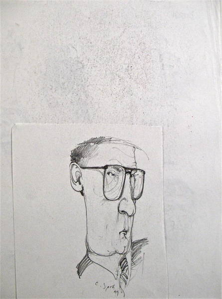 Drawing - Sketchbook 2  Pg 8 by Cliff Spohn