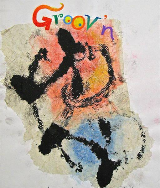 Painting - Sketchbook 3 Pg 22  Groovn   by Cliff Spohn