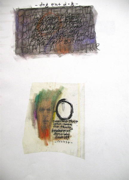 Mixed Media - Sketchbook 3 Pg 23   by Cliff Spohn