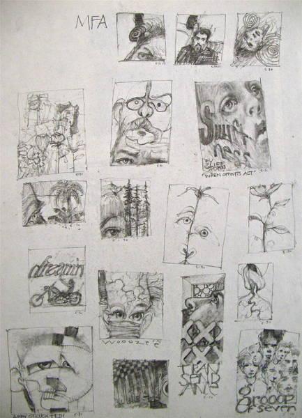 Drawing - Sketchbook 3 Pg 24   by Cliff Spohn