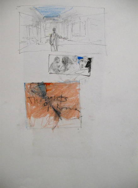 Mixed Media - Sketchbook 3 Pg 7 by Cliff Spohn