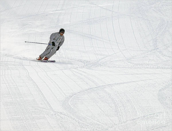 Photograph - Skiing Nubs Nob by Terry Doyle
