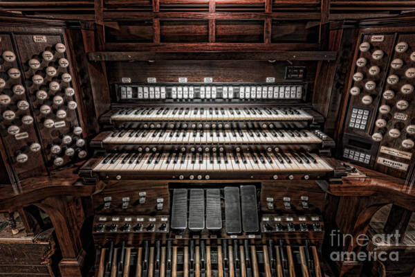 St Michaels Church Photograph - Skinner Pipe Organ by Clarence Holmes