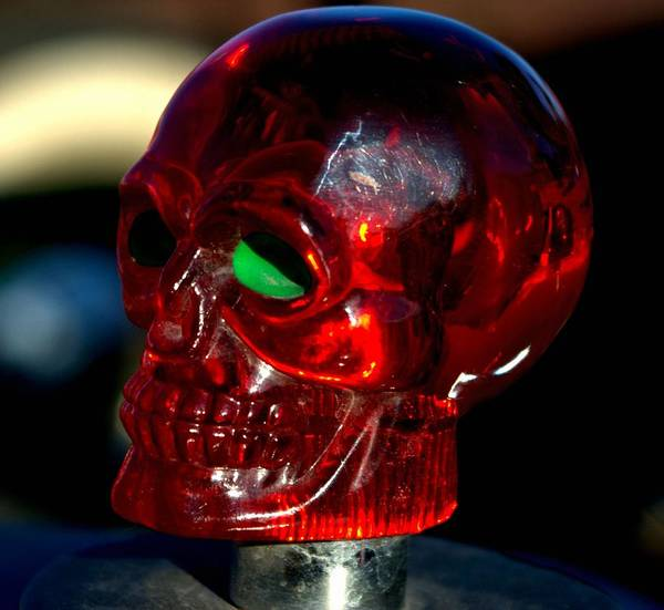 Photograph - Skull Radiator Cap by Tim McCullough