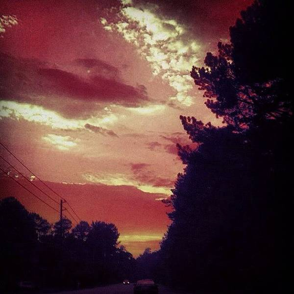 Car Photograph - #sky 🌅 by Katie Williams