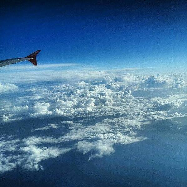 Sea Photograph - #sky #cloudy On The Way To #jordan by Abdelrahman Alawwad
