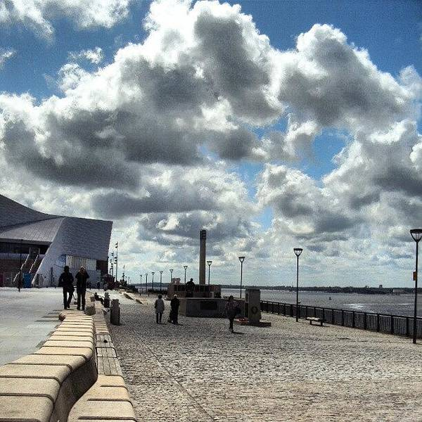 Wall Art - Photograph - Sky In Liverpool, This Pic Was Talken by Abdelrahman Alawwad