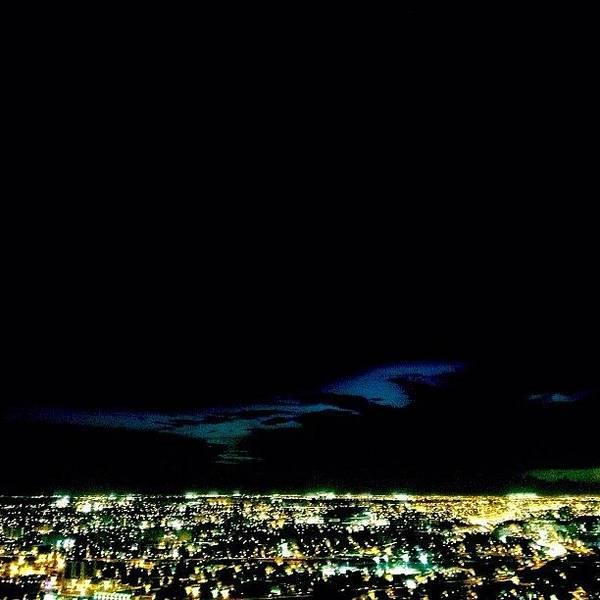 Wall Art - Photograph - Sky Lines & City Lights by Joel Lopez