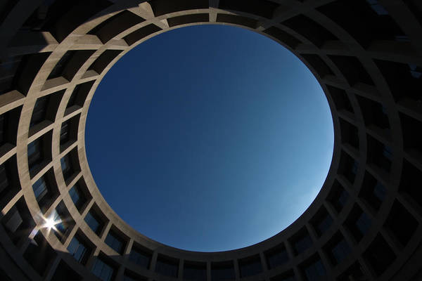 Eye Ball Photograph - Sky Portal by Joshua Ball